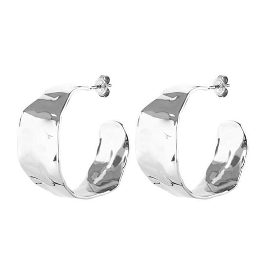 Dyrberg Kern Page Shiny Silver Earring