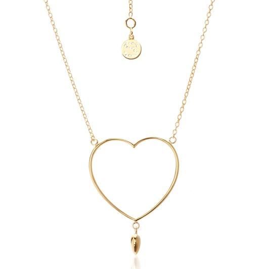 Silk & Steel Lover Necklace