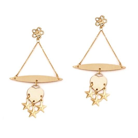 Petite Grand Chandelier Star Earrings