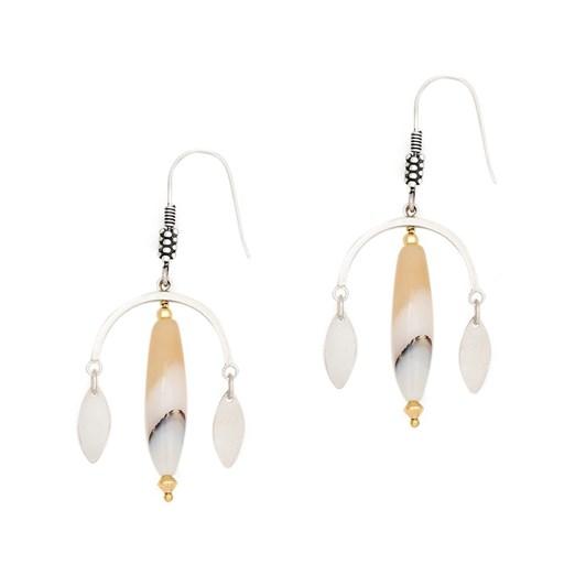 Petite Grand Moon Drop Earrings