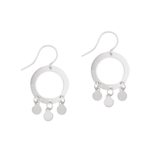 Petite Grand Small Circle Earrings
