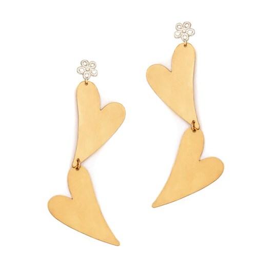 Petite Grand Large Double Heart Earrings