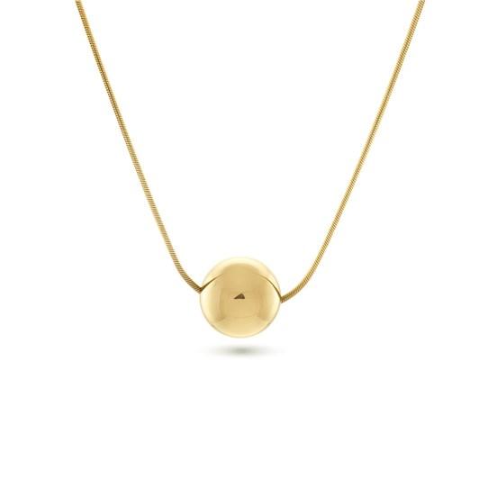 Monarc Jewellery Josephine Orb Necklace Gold Vermeil