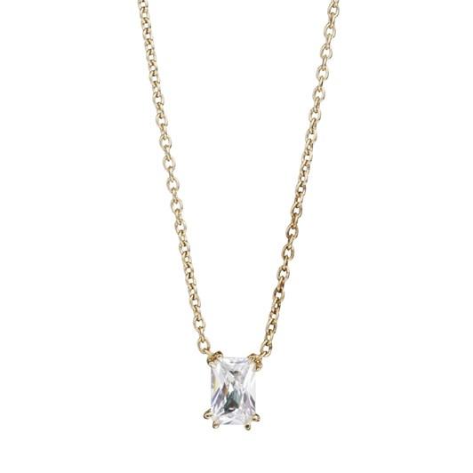 Monarc Jewellery Empress Diamond Solitaire Necklace Emerald-Cut