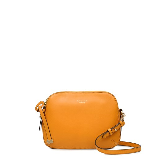 Radley Dukes Place Leather Ziptop Crossbody Buttercup