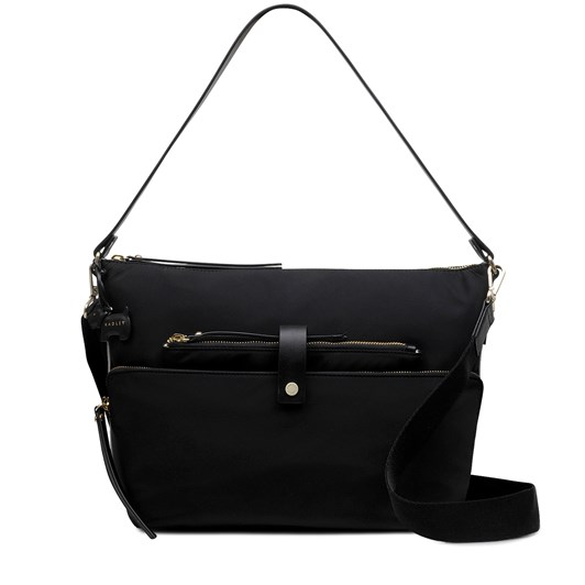 Radley Ada Street Leather Open Top Bucket Black