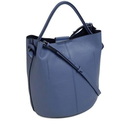 Radley Ada Street Leather Open Top Bucket Denim