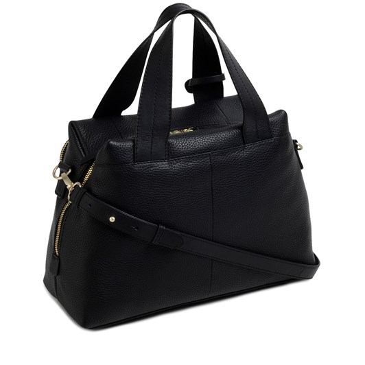 Radley Dukes Place Leather Open Top Multiway Bag Black
