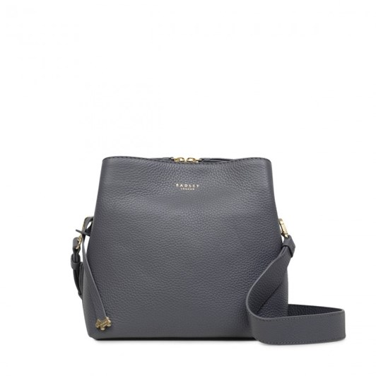 Radley Dukes Place Leathercompartment Multiway Bag Charcoal