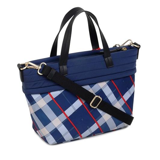 Radley Penton Mews Check Ziptop Grab Multiway Bag Ink