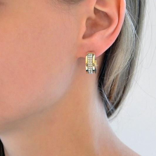 Dyrberg Kern Kimmie SG Crystal Earring