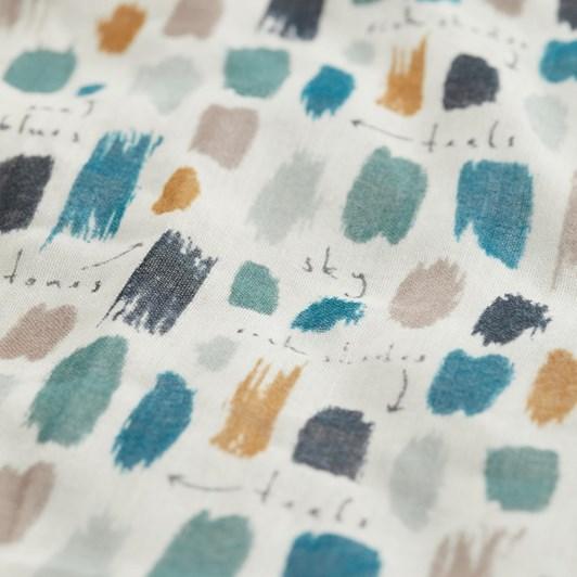 Seasalt Pretty Printed Scarf Colour Trials Storm