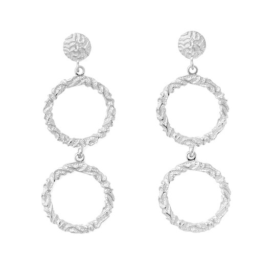 Olympia by Love And Object Annah Double Hoop Earrings
