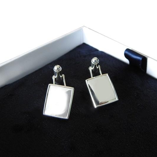 Love In A Jewel The Cufflinks (Silver) Plain