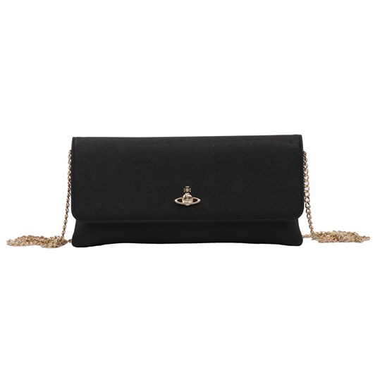 Vivienne Westwood PF Victoria Clutch With Flap