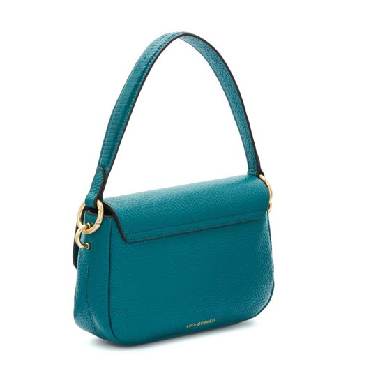 Lulu Guinness Lip Turnlock Medium Riley Emerald