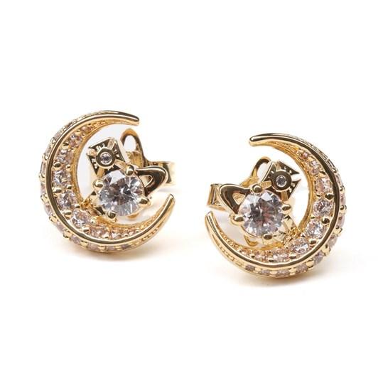 Vivienne Westwood Dorina Moon Earring