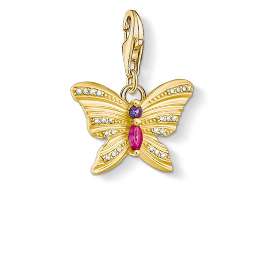 Thomas Sabo Charm Club Butterfly Yellow Gold Plated