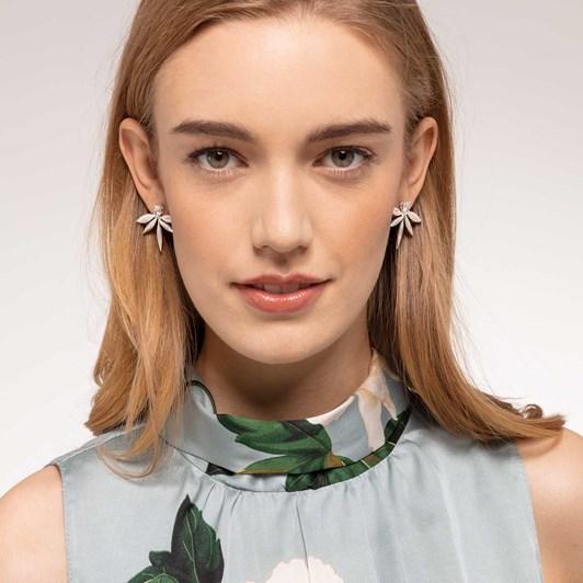 Thomas Sabo Magic Garden Leaf Earrings