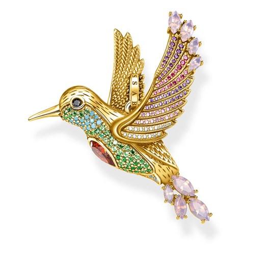 Thomas Sabo Magic Garden Hummingbird Yellow Gold Plated Pendant