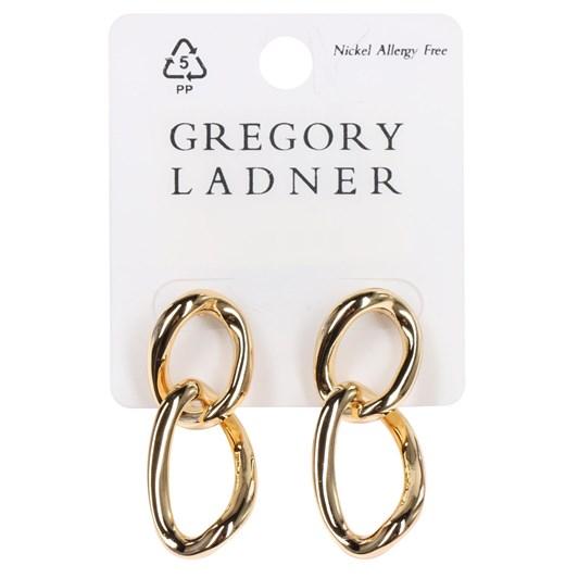 Gregory Ladner Long Oval Drop Earring