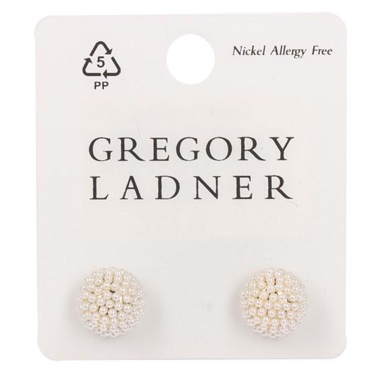 Gregory Ladner Micro Pearl Stud Earring