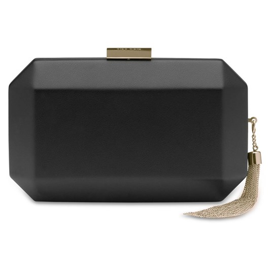 Olga Berg Lia Facetted Clutch With Tassel