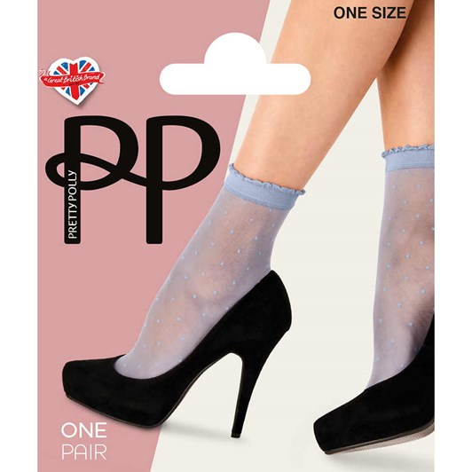 Pretty Polly Sheer Spot Anklet