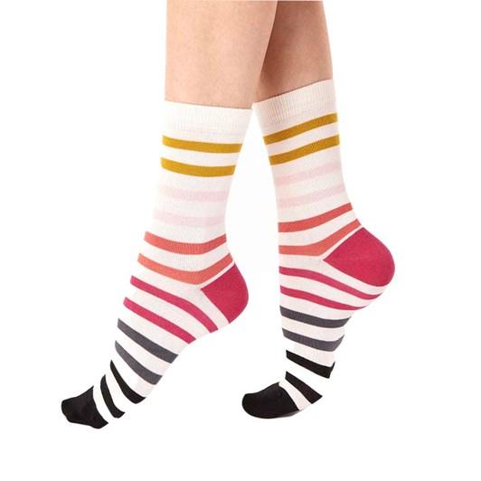 Pretty Polly Narrow Stripe Socks 2 Pack