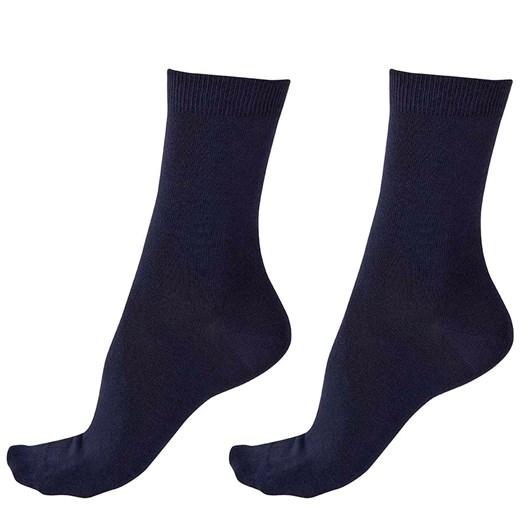 Pretty Polly Plain Bamboo Socks 2 Pack