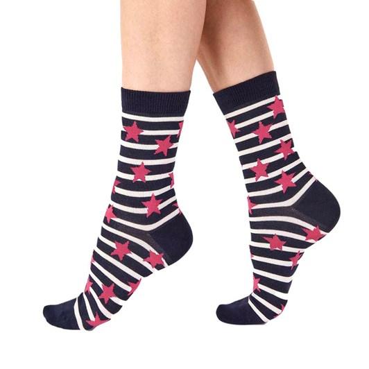 Pretty Polly Stars And Stripes Socks 2 Pack
