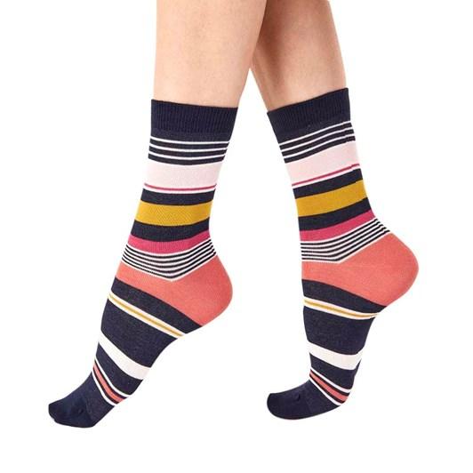 Pretty Polly Varied Stripe Socks 2 Pack