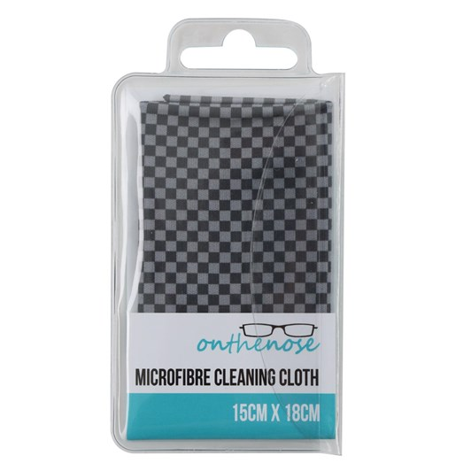 On The Nose Cleaning Cloth - Chequers