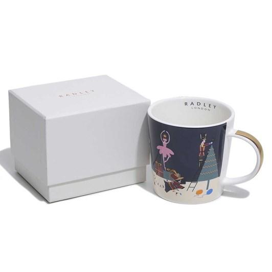 Radley Nutcracker Boxed Mug
