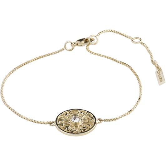 Pilgrim Fia Gold Plated-Crystal Bracelet
