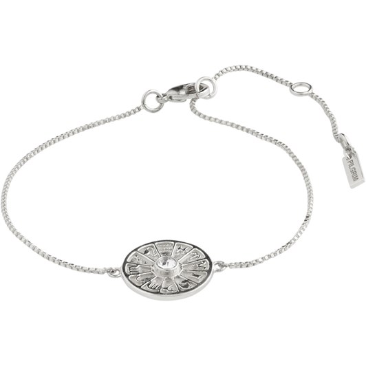 Pilgrim Fia Silver Plated-Crystal Bracelet