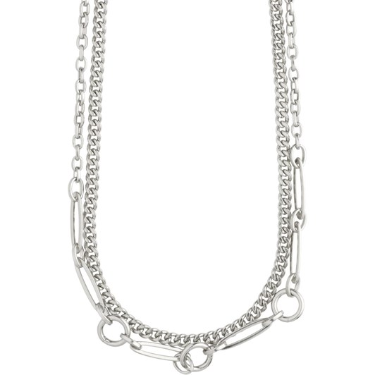 Pilgrim Sensitivity Silver Plated Necklace