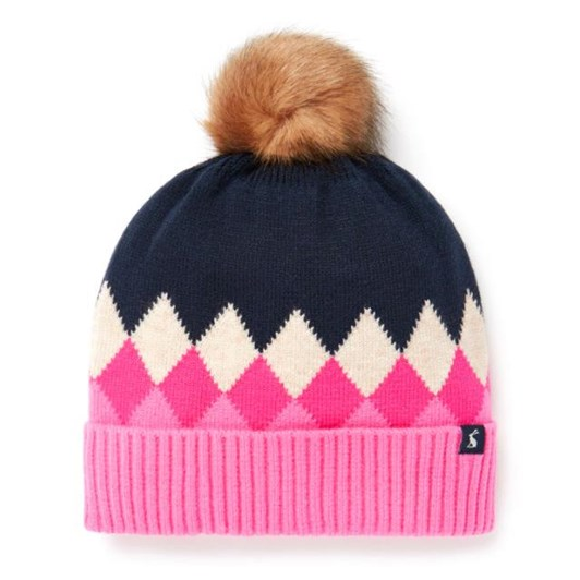 Joules Rothley Argyle Knitted Hat