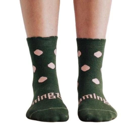 Lamington Socks Thyme Merino Wool Crew Socks