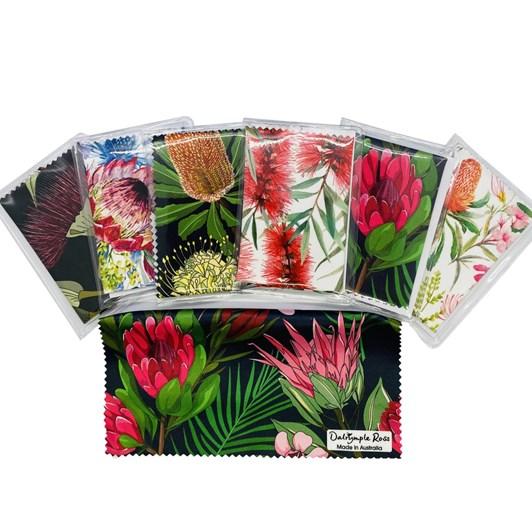 Rosdale Microfiber Cloths Australian Floral
