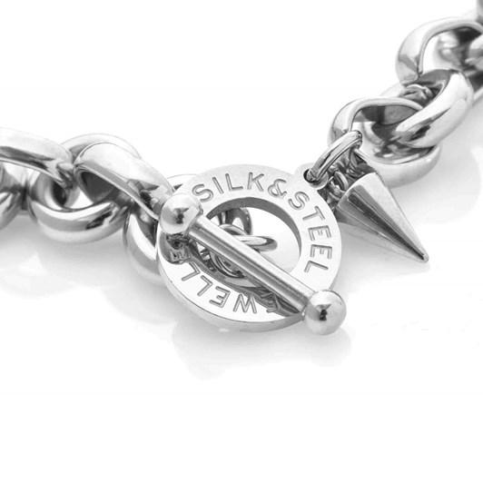 Silk & Steel Heirloom Bracelet