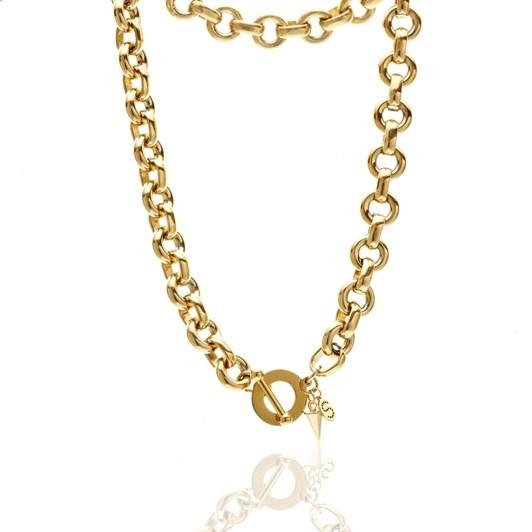 Silk & Steel Heirloom Necklace