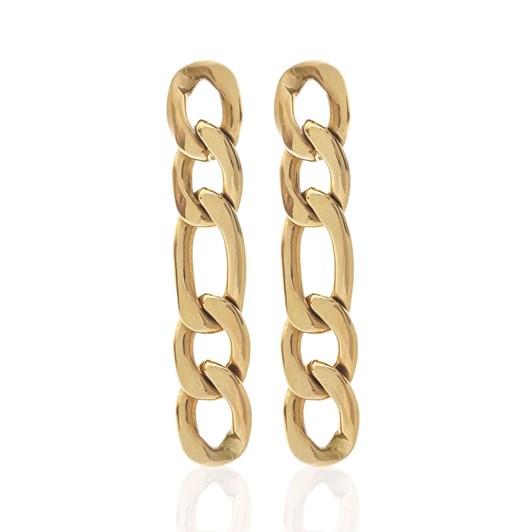 Silk & Steel Figaro Earrings