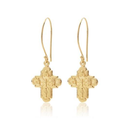 Silk & Steel Super Cross Earrings