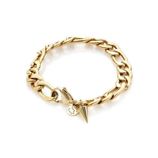 Silk & Steel Figaro Bracelet