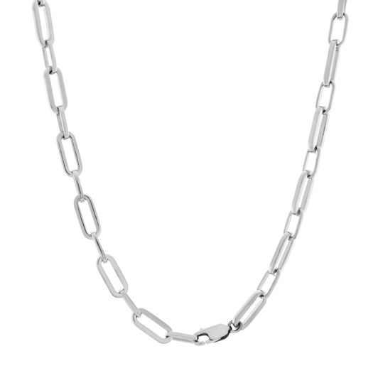 Monarc Jewellery Suitor Chain Necklace 50cm Silver