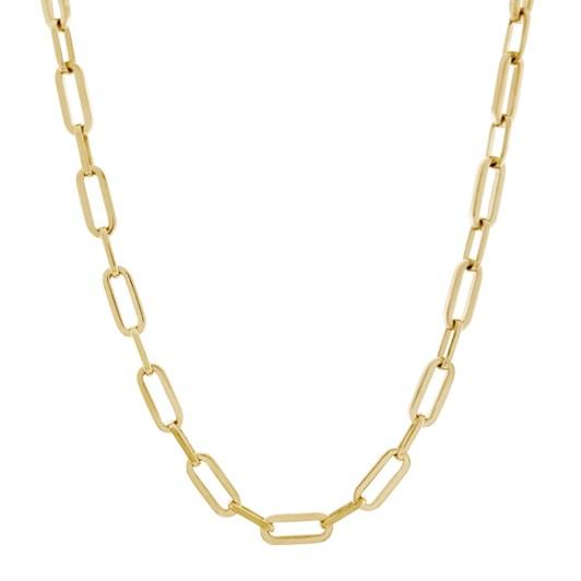 Monarc Jewellery Suitor Chain Necklace 50cm Gold Vermeil