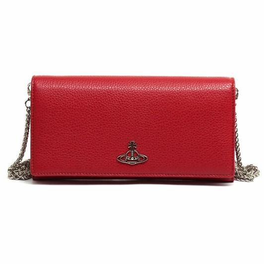 Vivienne Westwood Jordan Long Wallet With Long Chain