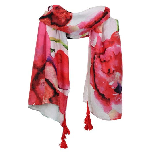 Alice & Lily Abstract Print Scarf