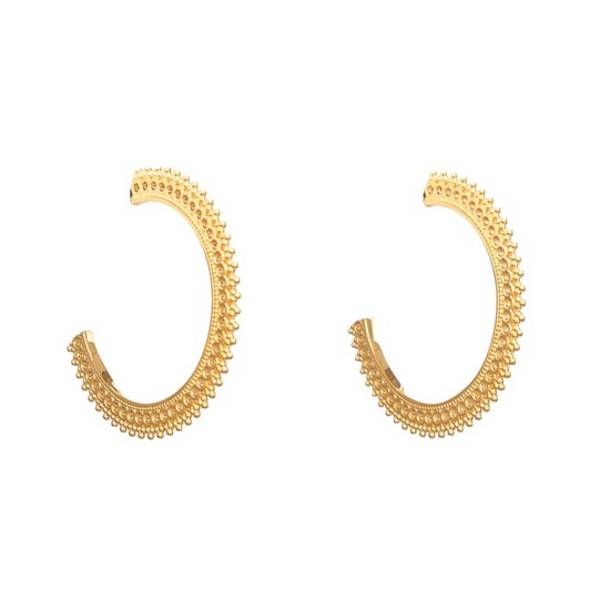 Stella + Gemma Gold Ophelia Hoop Earrings